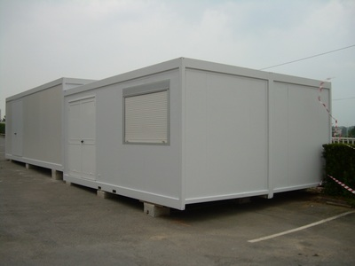 Chantier construction modulaire prefabrique demontable algeco container bureau - Bungalow bureau occasion ...
